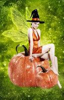 Journal Halloween Fairy