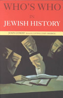 Pdf Who's who in Jewish History
