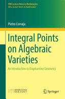 Integral Points on Algebraic Varieties