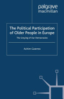The Political Participation of Older People in Europe