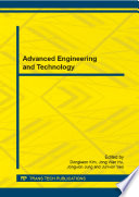 Advanced Engineering and Technology
