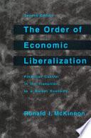 The Order of Economic Liberalization