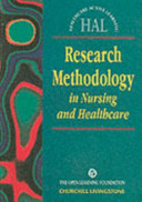 Research Methodology In Nursing And Health Care