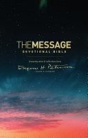 The Message Devotional Bible Pdf/ePub eBook