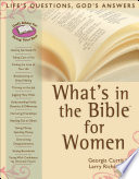 What s in the Bible for Women