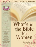 What's in the Bible for Women