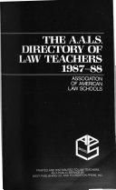 Directory of Law Teachers