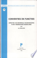 Conventies En Functies