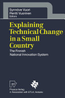 Pdf Explaining Technical Change in a Small Country Telecharger