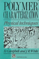 Polymer Characterization Physical Techniques Book PDF