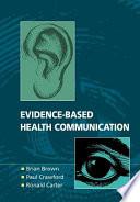 Evidence Based Health Communication Book