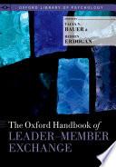 The Oxford Handbook Of Leader Member Exchange