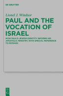 Paul and the Vocation of Israel Pdf/ePub eBook