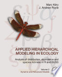 Applied Hierarchical Modeling in Ecology  Analysis of Distribution  Abundance and Species Richness in R and BUGS Book