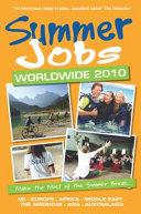 Summer Jobs Worldwide 2010