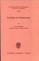 Soziologie des Christentums