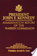 President John F Kennedy Assassination Report Of The Warren Commission Book PDF