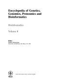 Encyclopedia of Genetics  Genomics  Proteomics and Bioinformatics  8 Volume Set
