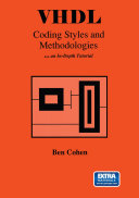 VHDL Coding Styles and Methodologies Pdf/ePub eBook