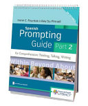 Spanish Prompting Guide for Comprehension Book
