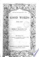 Good words  ed  by N  Macleod Book PDF