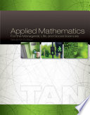 Applied Mathematics for the Managerial  Life  and Social Sciences Book