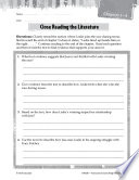 Bridge To Terabithia Close Reading And Text Dependent Questions