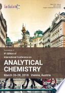 Proceedings of 9th Edition of International Conference on Analytical Chemistry 2018