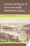 A History of the Theory of Structures in the Nineteenth Century