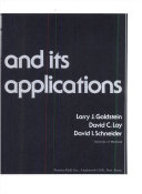 Calculus and Its Applications