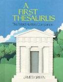A First Thesaurus