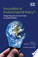 Innovation in Environmental Policy  Book