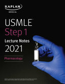 USMLE Step 1 Lecture Notes 2021  Pharmacology
