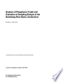 Analysis of phosphorus trends and evaluation of sampling designs in the Quinebaug River basin, Connecticut
