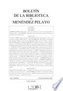 Boletín de la Biblioteca de Menéndez Pelayo  , Band 84