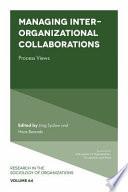 Managing Inter Organizational Collaborations Book PDF