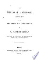 The Threads Of A Storm Sail A Little Book On The Benefits Of Assurance Etc
