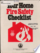 Your Home Fire Safety Checklist Book PDF