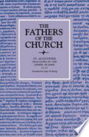 Tractates On The Gospel Of John 11 27 The Fathers Of The Church Volume 79