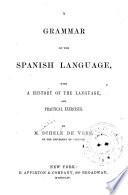 Grammar of the Spanish language