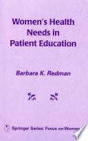 Women S Health Needs In Patient Education