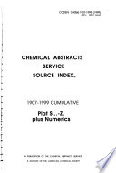 Chemical Abstracts Service Source Index
