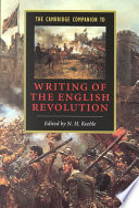 The Cambridge Companion to Writing of the English Revolution