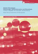 Globale Klimatologie: Meteorologie, Wetterinformation und Klimatologie