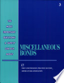 The Most Important Questions a Surety Can Ask about Miscellaneous Bonds Book