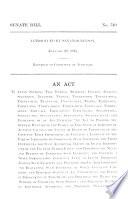 Senate Bills  Original and Amended