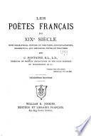 Les poètes français du XIXe siècle