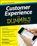 Customer Experience For Dummies Book PDF