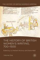 The History of British Women's Writing, 700-1500 [Pdf/ePub] eBook