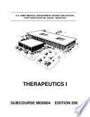 Drug Therapeutics